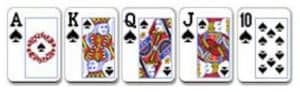 1 Royal Flush Ini adalah kombinasi kartu terbaik