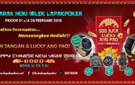 Semarak Hoki Imlek Lapak Poker online